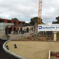 Construction de 23 logements en entreprise générale avec ZANELLO Pour Presqu'île Habitat à Cherbourg Octeville